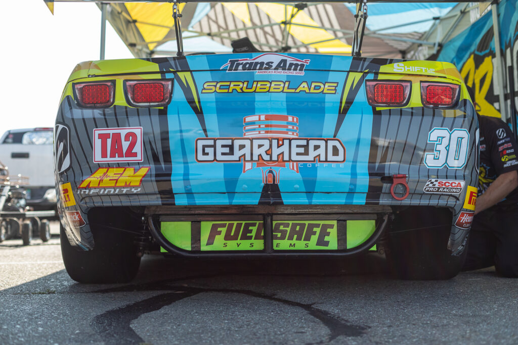 Gearhead Coffee has supported Michele & Grr Racing for several years
