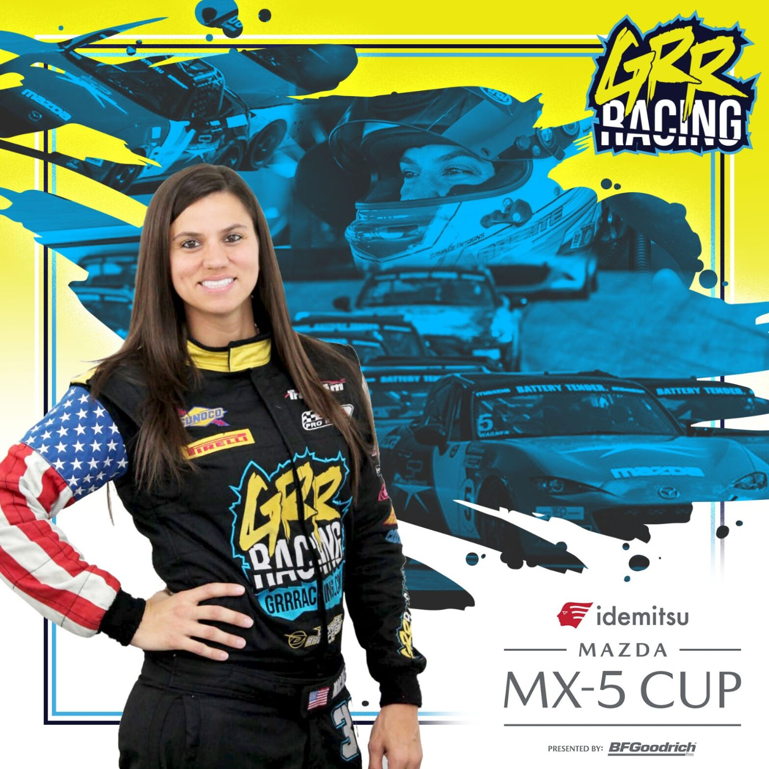 Michele Abbate Selected as Finalist for Mazda MX-5 Cup Shootout